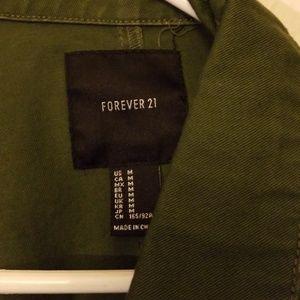 Forever 21 Jackets & Coats - Oversized military style jacket